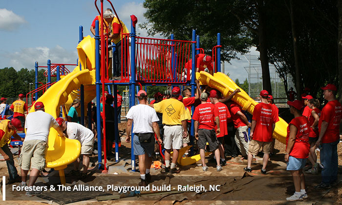 Foresters Playground build