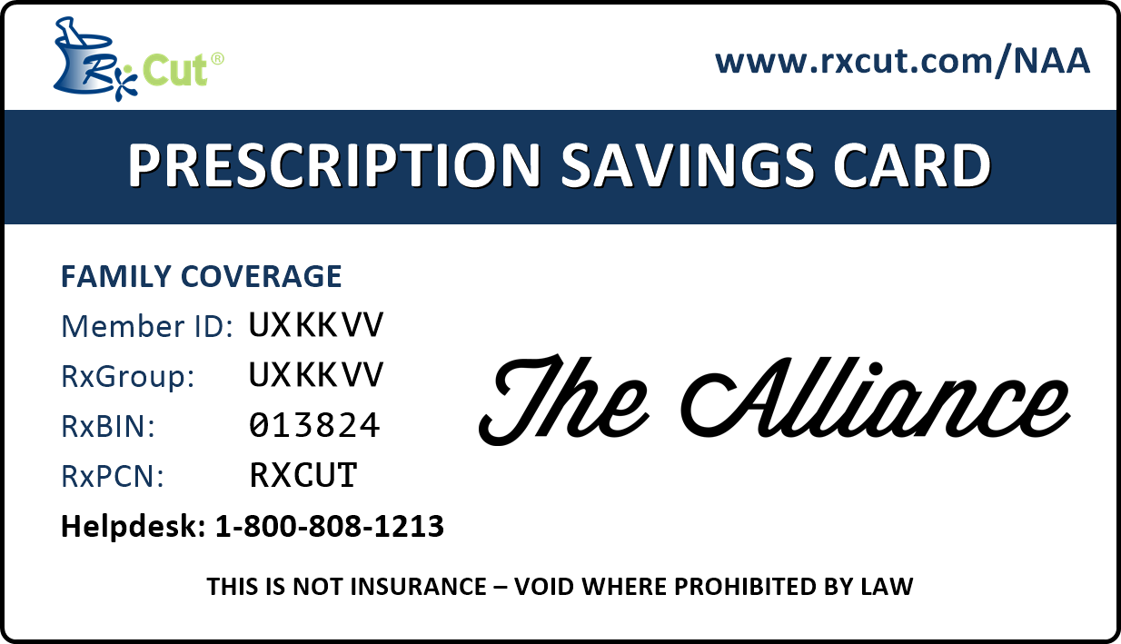 Pharmancy Savings Program RX Card